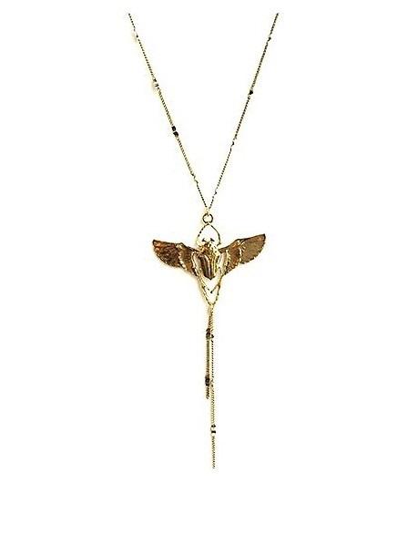 collier scarabee 2 doré Lotta Djossou 1 80e