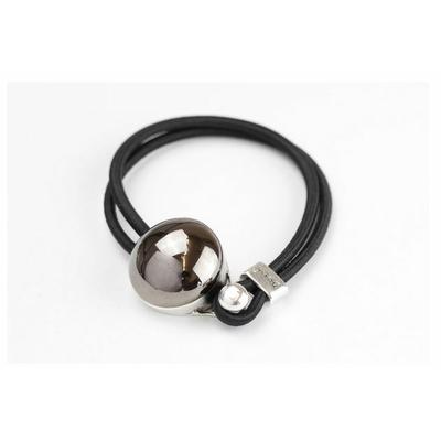 Bracelet galet céramique métallisé et élastique collection Confetti GEVOLE