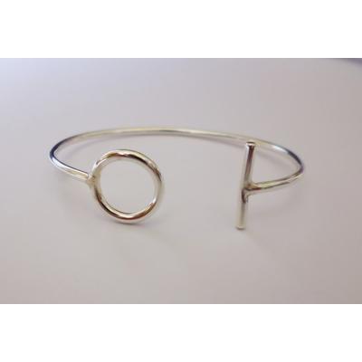 bracelet OI argent massif LABELLE SIMONE