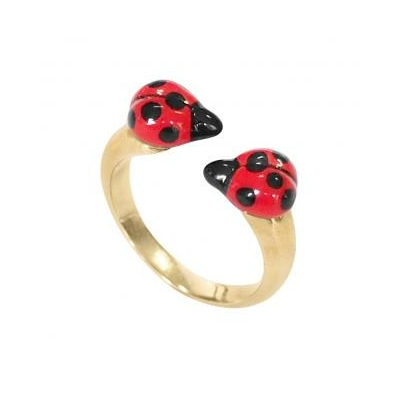 Bague Face to Face Coccinelle réf BB39 - Nach
