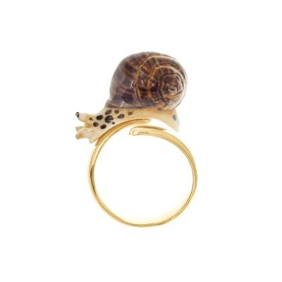 Bague ajustable Escargot réf BB43 - Nach