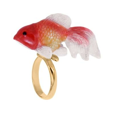 Bague réglable poisson Oranda réf BB15 - Nach