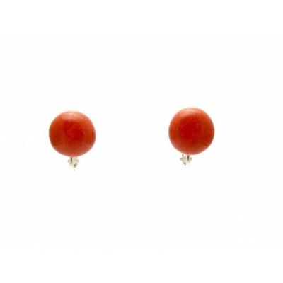 BO clip rouge céramique collection Puce Clip de chez Gévole
