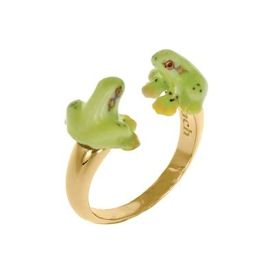 Bague Face To Face mini Grenouille BB49 - Nach