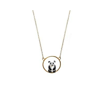 Collier rond Panda assis U173 - Nach