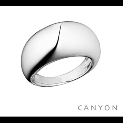 Bague argent 925 anneau dodu - Canyon