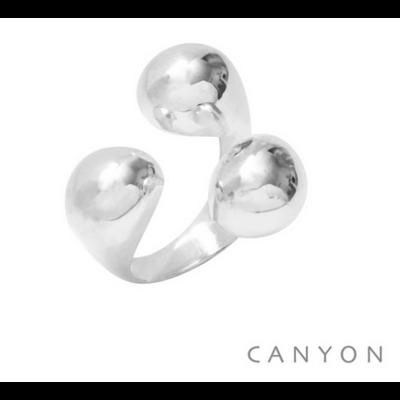 Bague argent 925 3 boules - Canyon