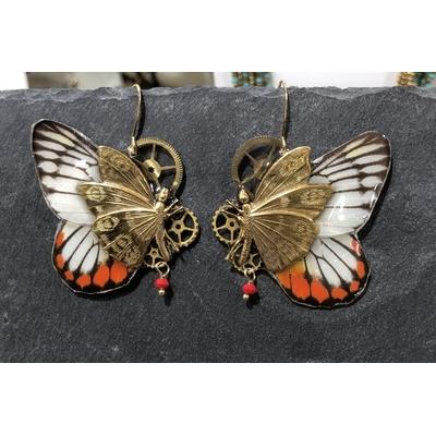 Boucles d'oreille gamme Chrysalide modèle Hyparete - Victorian Rehab