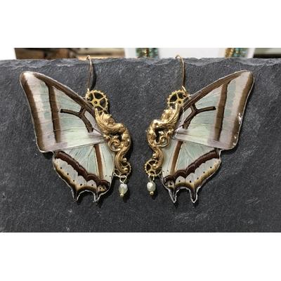 Boucles d'oreille gamme Sphynx modèle Narcaea - Victorian Rehab
