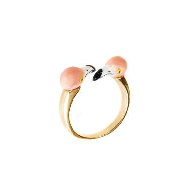 "Bague FaceToFace Flamant Rose ""RÍO LAGARTOS"" BB65 NACH"