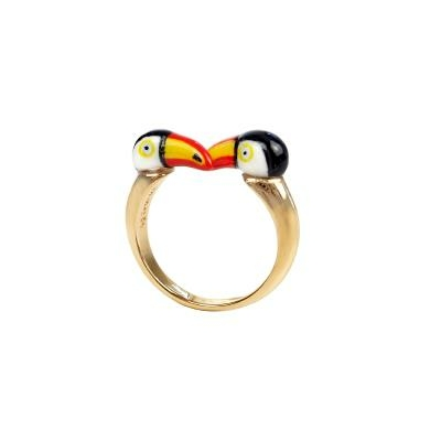 "Bague FaceToFace Toucan ""CHICHÉN ITZÁ"" BB69 NACH"