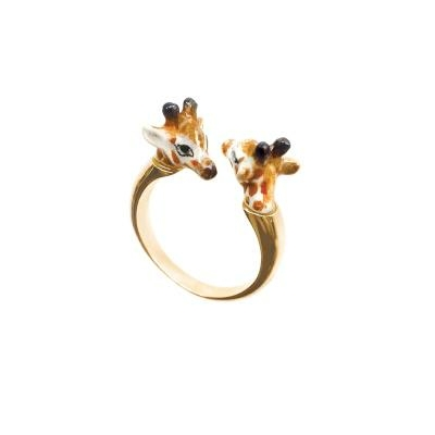 "Bague FaceToFace Girafe ""GÍGÍ"" BB72 NACH"