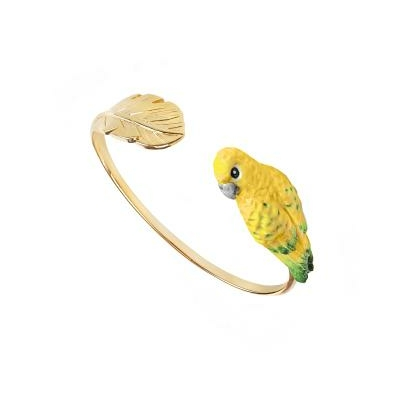 "Bracelet Oiseau Conure Soleil ""AKUMAL"" NACH"