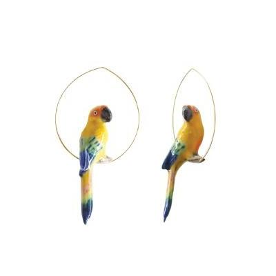 "Créoles Oiseau Conure Soleil ""CANCÚN"" - NACH"