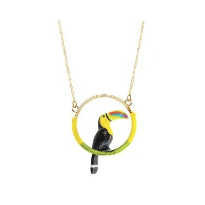 "Mini collier rond Toucan ""CHICHÉN ITZÁ"" - NACH"