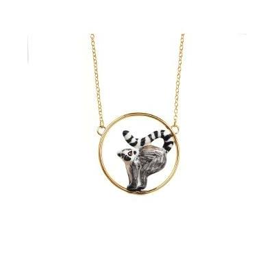 "Mini collier rond Lémurien ""TEOTIHUACAN"" - NACH"