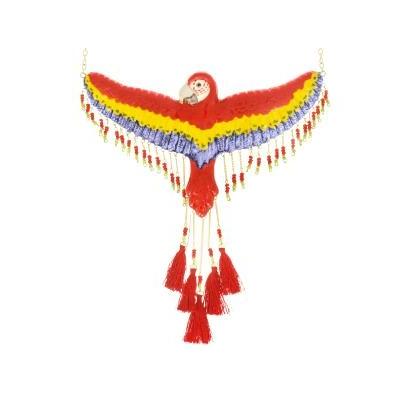 Collier Perroquet Rouge volant - NACH