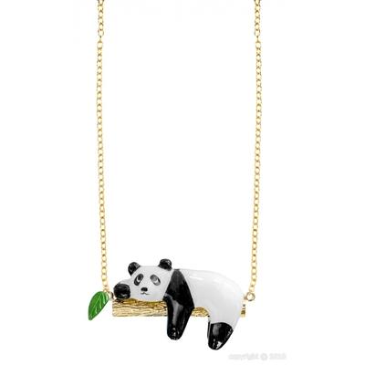 Collier panda sur une branche - NACH