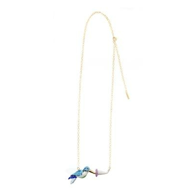 Collier Colibri Bleu & Vert - NACH