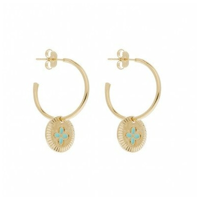 Boucles d'oreilles Créoles ESPRIT collection ANTIQUE - LOVELY DAY