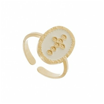 Bague sceau FOI ivoire collection ANTIQUE - LOVELY DAY