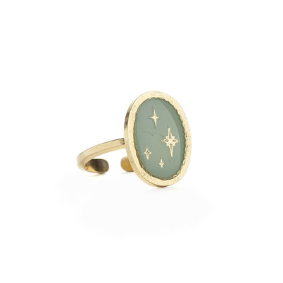 Bague sceau GALAXIE collection ANTIQUE - LOVELY DAY