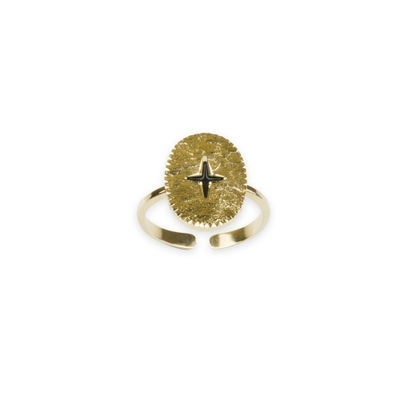 Bague sceau L'ECLAT collection ANTIQUE - LOVELY DAY