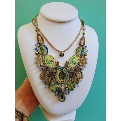 Collier Cerenity collection Hip Fiesta Green - Ayala Bar