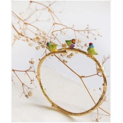 Bracelet branche Oiseau - NATURE MORTE NACH