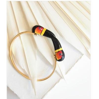 Bracelet Face To Face Toucan Noir - ÉPICÉE NACH