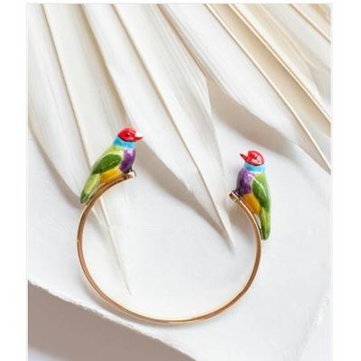 Bracelet Face To Face Oiseau - NATURE MORTE