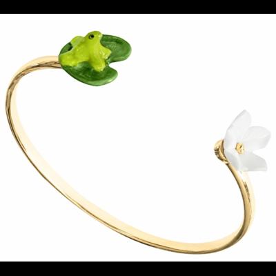 Bracelet Face to Face Grenouille & Fleur - Nach