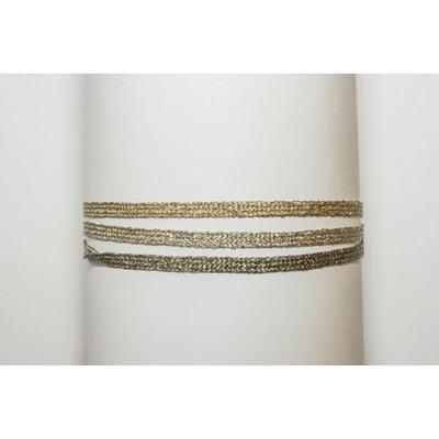 Bracelet 3 brins Dégradé de fils d'argent LA BELLE SIMONE