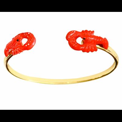 Bracelet Face to Face homard - Nach