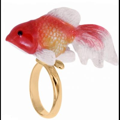 Bague ajustable poisson Oranda NACH