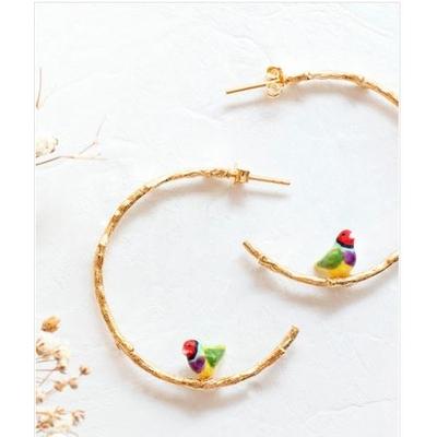 Boucles d'oreilles branches Oiseau - NATURE MORTE NACH