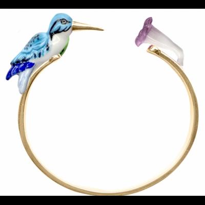 Bracelet Face to Face Colibri bleu - Nach