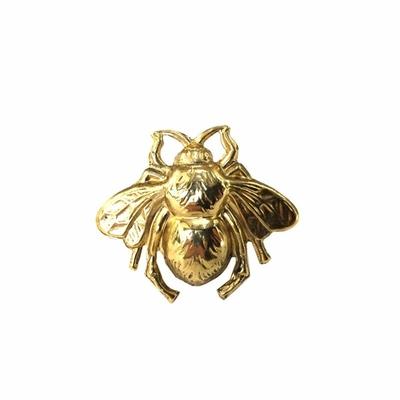 Bague ajustable bee dorée Lotta Djossou