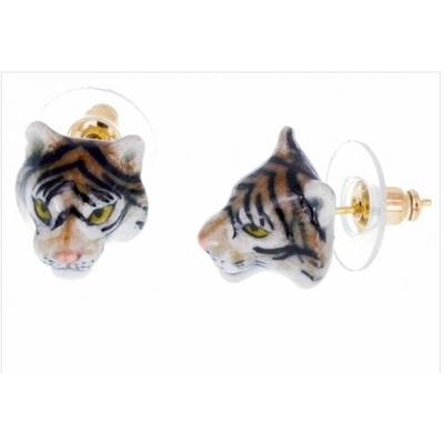 Boucles d'oreilles mini tigre NACH