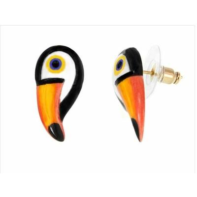 Boucles d'oreilles mini toucan NACH