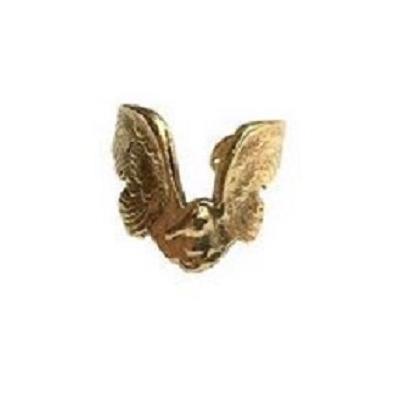 Bague ajustable bird dorée  Lotta Djossou