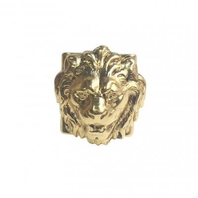 bague lion dore Lotta Djosso