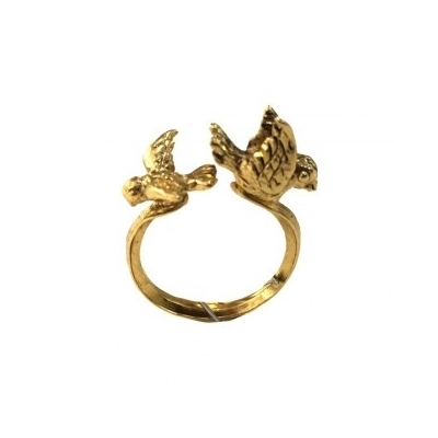 bague little bird dorée Lotta Djossou
