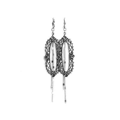 boucles d'oreilles frame filigrane Lotta Djossou