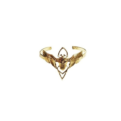 bracelet beetle dorée  Lotta Djossou
