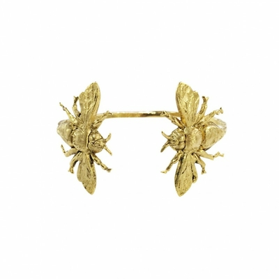 bracelet double insecte doré Lotta Djossou