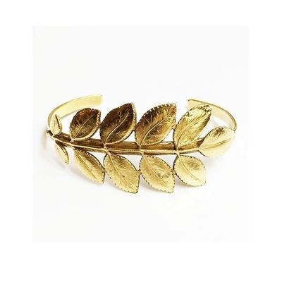bracelet feuille d'acacia Lotta Djossou