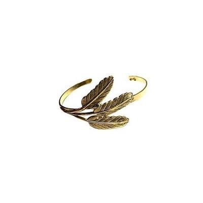 bracelet jonc 3 feuilles Lotta Djossou