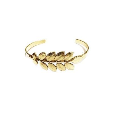 bracelet jonc feuille d'acacia Lotta Djossou