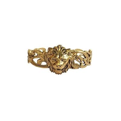 bracelet lion doré  Lotta Djossou